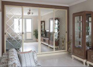 Изготовление стекол и зеркальных изделий для мебели